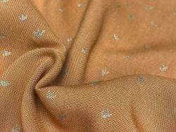 Acheter Tissu viscose Cousette Golden flowers - Caramel - 1,80€ en ligne sur La Petite Epicerie - 100% Loisirs créatifs