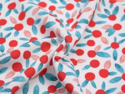 Acheter Tissu viscose Cousette Chérie Berry - 1,80€ en ligne sur La Petite Epicerie - 100% Loisirs créatifs