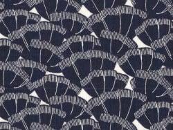 Acheter Tissu crêpe viscose Cousette Discrète - Navy - 1,80€ en ligne sur La Petite Epicerie - 100% Loisirs créatifs