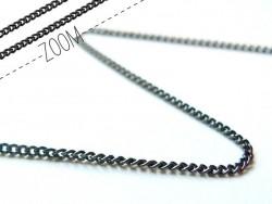 Acheter Chaine gourmette 1 mm noir metallisé x 20 cm - 0,49€ en ligne sur La Petite Epicerie - Loisirs créatifs