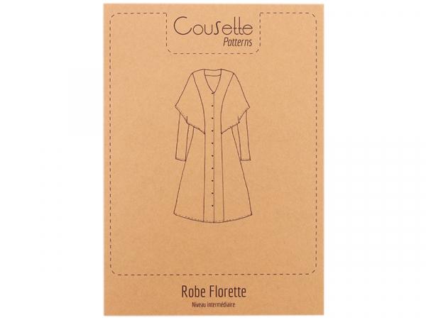 Acheter Patron de couture Cousette - Robe et chemisier Florette - 14,00€ en ligne sur La Petite Epicerie - Loisirs créatifs