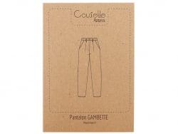 Acheter Patron de couture Cousette - Pantalon Gambette - 14,00€ en ligne sur La Petite Epicerie - Loisirs créatifs
