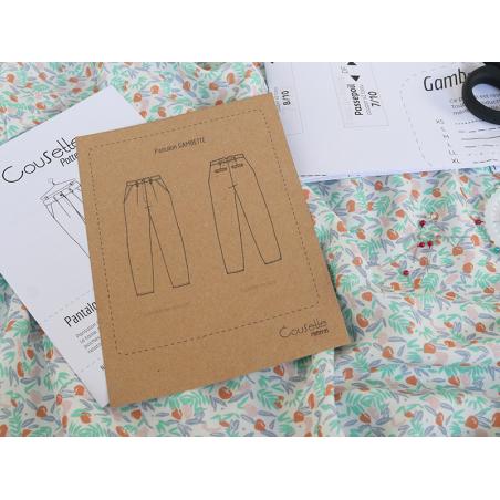 Acheter Patron de couture Cousette - Pantalon Gambette - 14,00€ en ligne sur La Petite Epicerie - 100% Loisirs créatifs