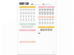 Acheter Journal de bord bébé - journalier - 4,99€ en ligne sur La Petite Epicerie - 100% Loisirs créatifs