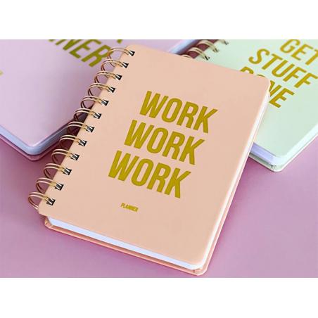 """Acheter Agenda semainier perpétuel - """"WORK WORK WORK"""" - 16,99€ en ligne sur La Petite Epicerie - 100% Loisirs créatifs"""
