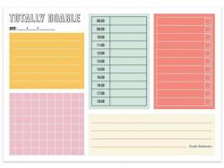 Acheter Bloc-notes - Totally doable - 4,99€ en ligne sur La Petite Epicerie - 100% Loisirs créatifs