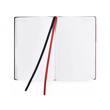 Acheter Notebook pour bullet journal - Rouge - 14,79€ en ligne sur La Petite Epicerie - 100% Loisirs créatifs