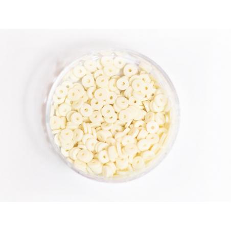 Acheter Boite de perles rondelles heishi 3 mm - ivoire - 1,99€ en ligne sur La Petite Epicerie - Loisirs créatifs