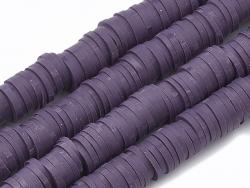 Acheter Boite de perles rondelles heishi 6 mm - prune - 1,99€ en ligne sur La Petite Epicerie - 100% Loisirs créatifs