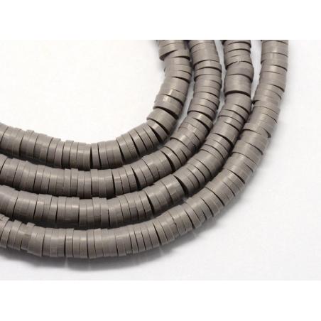 Acheter Boite de perles rondelles heishi 6 mm - gris acier - 1,99€ en ligne sur La Petite Epicerie - Loisirs créatifs