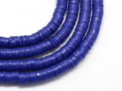 Acheter Boite de perles rondelles heishi 6 mm - bleu roi - 1,99€ en ligne sur La Petite Epicerie - Loisirs créatifs