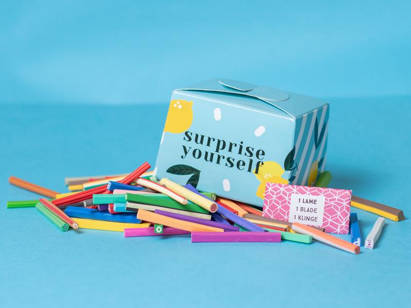 Acheter Mini Boite surprise créative - Canes Pâte Polymère - 3,99€ en ligne sur La Petite Epicerie - Loisirs créatifs