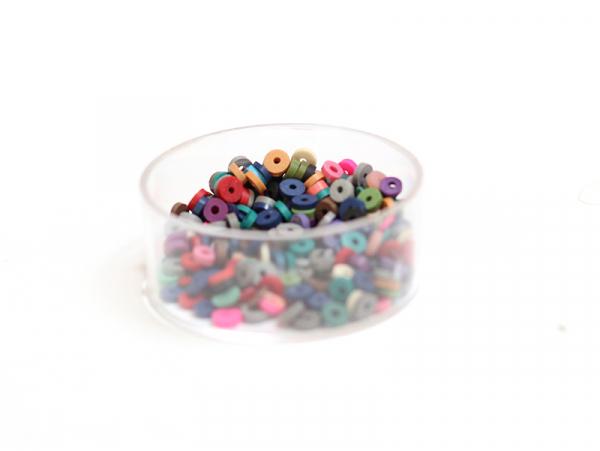 Acheter Boite de perles rondelles heishi 3 mm - mix de couleurs naturelles - 1,99€ en ligne sur La Petite Epicerie - 100% Lo...
