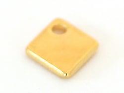 Acheter Breloque losange acier inoxydable - couleur or - 0,49€ en ligne sur La Petite Epicerie - Loisirs créatifs
