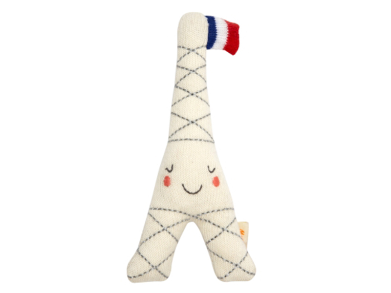 Acheter Hochet tour eiffel - Meri Meri - 20,89€ en ligne sur La Petite Epicerie - 100% Loisirs créatifs