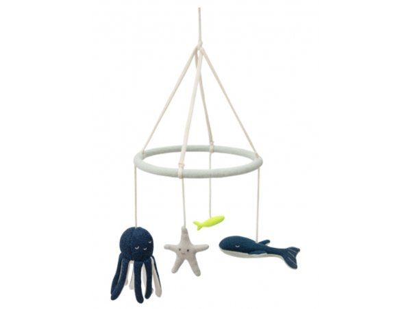 Acheter Mobile bébé animaux marins - Meri Meri - 45,89€ en ligne sur La Petite Epicerie - 100% Loisirs créatifs