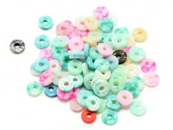 Acheter Boite de perles rondelles heishi 5 mm - marbré couleurs pastelles - 1,99€ en ligne sur La Petite Epicerie - 100% Loi...
