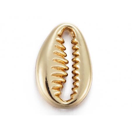 Acheter Pendentif coquillage petit cauri - doré à l'or fin 12 mm - 0,69€ en ligne sur La Petite Epicerie - Loisirs créatifs