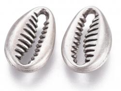 Acheter Pendentif coquillage petit cauri - plaqué argent véritable 12 mm - 0,69€ en ligne sur La Petite Epicerie - 100% Lois...