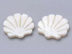 Acheter Perle coquillage - en nacre véritable - 15 mm - 1,39€ en ligne sur La Petite Epicerie - 100% Loisirs créatifs