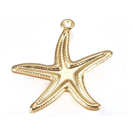Acheter Breloque étoile de mer - doré - 20 mm - 0,99€ en ligne sur La Petite Epicerie - 100% Loisirs créatifs
