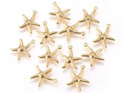 Acheter Breloque étoile de mer - doré - 15 mm - 0,79€ en ligne sur La Petite Epicerie - 100% Loisirs créatifs