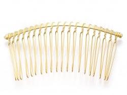 Acheter Barrette peigne doré à décorer - 75 mm - 1,19€ en ligne sur La Petite Epicerie - Loisirs créatifs