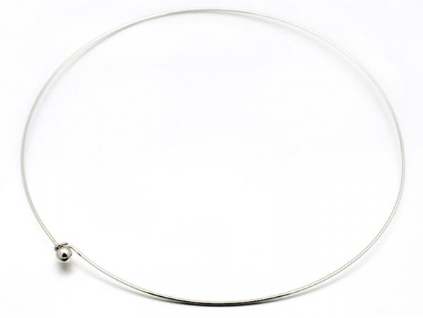 Acheter Support pour création de collier torque - argenté - 2,79€ en ligne sur La Petite Epicerie - Loisirs créatifs