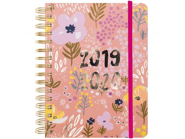 Acheter Agenda académique 17 mois, 2019/20 couleur rose et fleurs des champs - 29,99€ en ligne sur La Petite Epicerie - Lois...