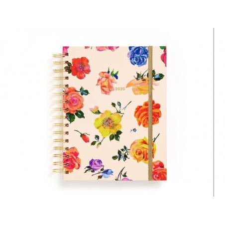 Acheter Agenda académique à spirales 17 mois, 2019/20 Roses colorées, taille medium - 25,99€ en ligne sur La Petite Epicerie...