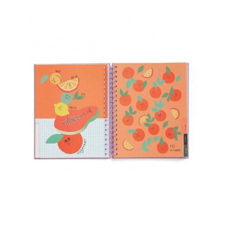 Acheter Agenda académique à spirales 17 mois, 2019/20 Roses colorées, grand format - 28,99€ en ligne sur La Petite Epicerie ...