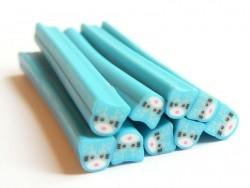 Katzencane - blau