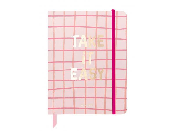 Acheter Agenda académique 17 mois, 2019/20 Take it easy rose à carreaux, petit format - 23,99€ en ligne sur La Petite Epicer...