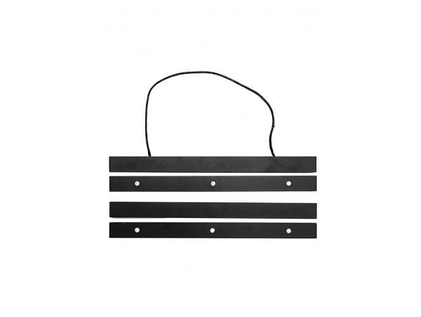 Acheter Kit de suspensions magnétiques en bois noir, A3 - 13,99€ en ligne sur La Petite Epicerie - Loisirs créatifs
