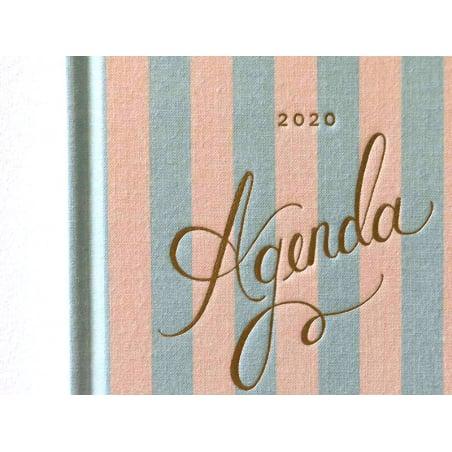 Acheter Agenda rayures année 2020 Rifle Paper co - 29,99€ en ligne sur La Petite Epicerie - 100% Loisirs créatifs