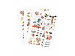 Acheter Lot de 128 stickers Rifle Paper co - 5,99€ en ligne sur La Petite Epicerie - 100% Loisirs créatifs