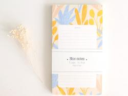 Acheter Bloc note végétal bleu et jaune Season Paper - 6,99€ en ligne sur La Petite Epicerie - 100% Loisirs créatifs