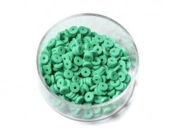 Acheter Boite de perles rondelles heishi 3 mm - vert - 1,99€ en ligne sur La Petite Epicerie - Loisirs créatifs