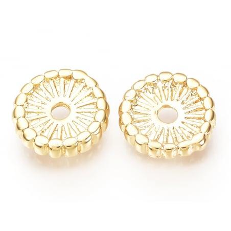 Acheter Perle rondelle ethnique 7x1,5mm - dorée à l'or fin - 0,69€ en ligne sur La Petite Epicerie - 100% Loisirs créatifs
