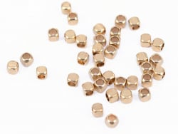 Acheter 20 perles cubes aux bords arrondis - laiton sans placage - 2,5 mm - 0,69€ en ligne sur La Petite Epicerie - Loisirs ...