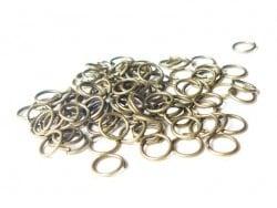 100 anneaux 7 mm couleur bronze