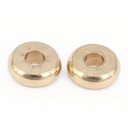 Acheter 20 perles rondelles heishi arrondies en laiton sans placage - 6x2 mm - 3,19€ en ligne sur La Petite Epicerie - Loisi...