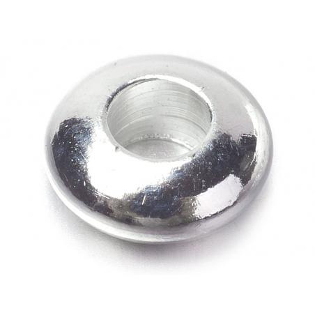 Acheter 20 perles rondelles arrondies en laiton argenté - 5 mm - 1,59€ en ligne sur La Petite Epicerie - 100% Loisirs créatifs