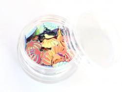Acheter Petit pot de paillettes en forme de coquillages irisés - 1,99€ en ligne sur La Petite Epicerie - Loisirs créatifs