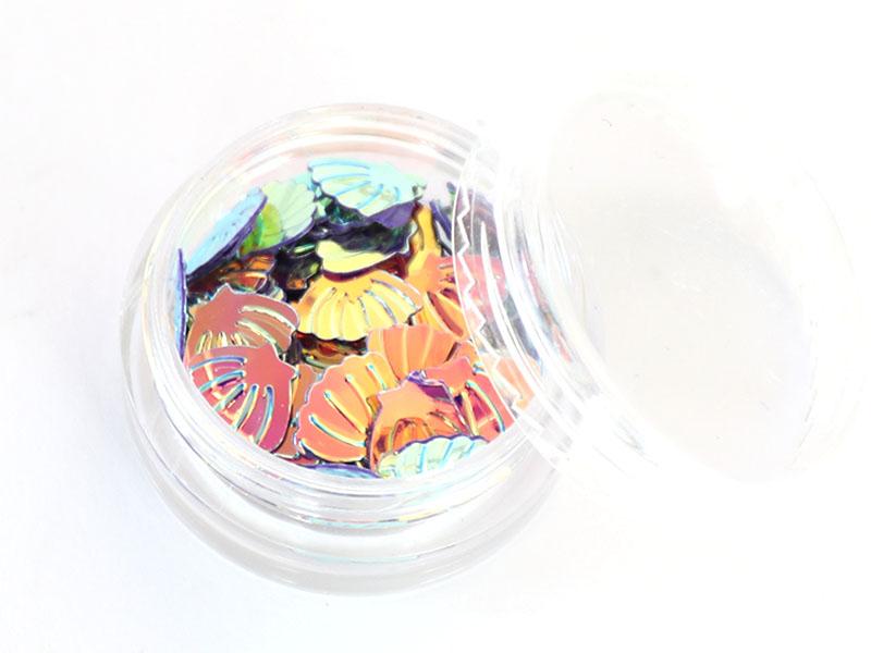 Acheter Petit pot de paillettes en forme de coquillages irisés - 1,99€ en ligne sur La Petite Epicerie - 100% Loisirs créatifs