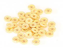 Acheter Perle rondelle ethnique 7x1,5mm - dorée à l'or fin - 0,69€ en ligne sur La Petite Epicerie - Loisirs créatifs