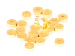 Acheter 20 perles heishi - intercalaires en laiton doré - 6x2 mm - 2,49€ en ligne sur La Petite Epicerie - 100% Loisirs créa...
