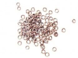 100 anneaux 3 mm cuivrés