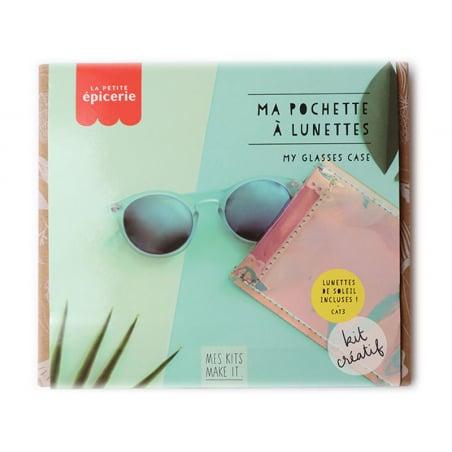 Acheter KIT MKMI - ma pochette à lunettes - 16,99€ en ligne sur La Petite Epicerie - Loisirs créatifs