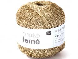 Acheter Fil à tricoter Creative lamé doré de Rico Design - 3,59€ en ligne sur La Petite Epicerie - Loisirs créatifs